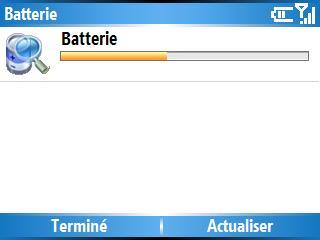 Niveau de batterie
